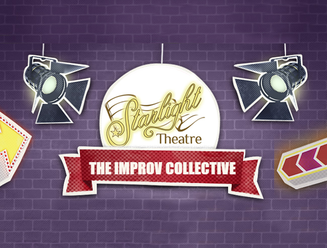 Comedy night with the Improv Collective at the Starlight Theatre Company - Community Theater and Classes - Costa Mesa, California